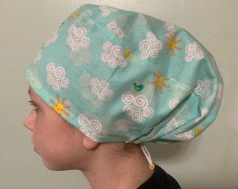 Scrub Cap Surgical Hat Bouffant scrub hats Surgeon Hat Surgical cap LARGE Surgical Scrub Hat Women\u2019s Bouffant Surgical Scrub Hat