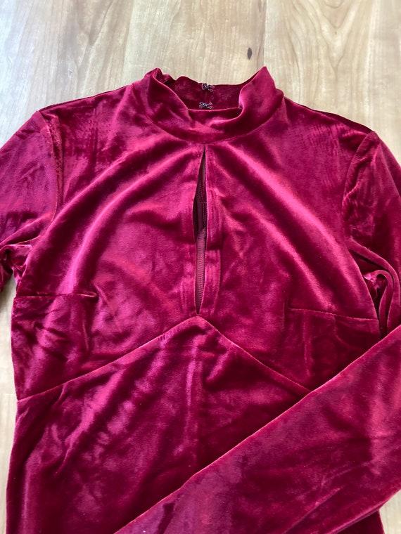 Velvet Bodysuit - image 2