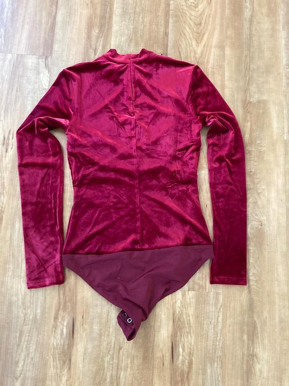 Velvet Bodysuit - image 3