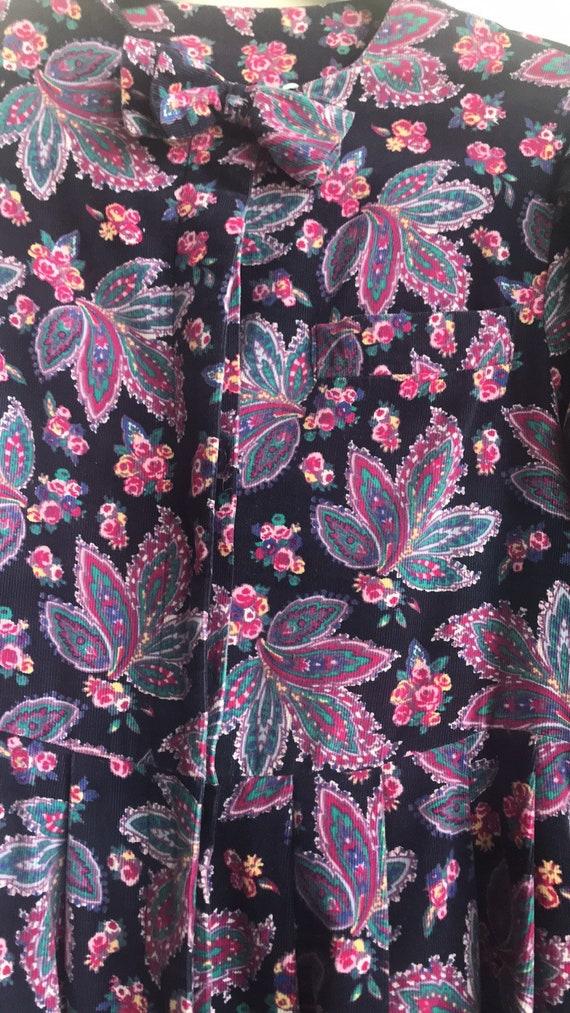 Vintage Laura Ashley Cottagecore Floral dress - image 4