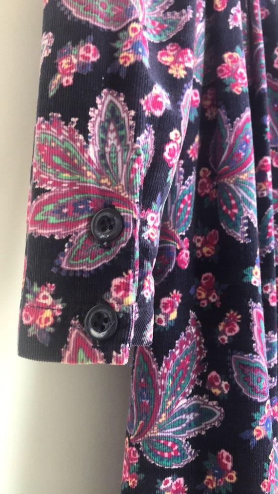Vintage Laura Ashley Cottagecore Floral dress - image 8