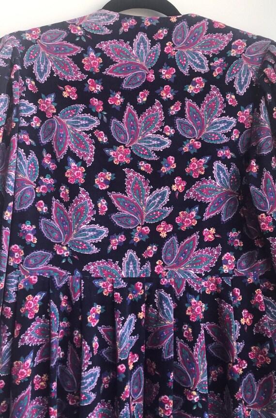 Vintage Laura Ashley Cottagecore Floral dress - image 6