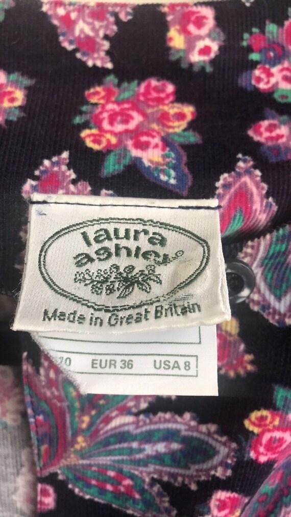 Vintage Laura Ashley Cottagecore Floral dress - image 10