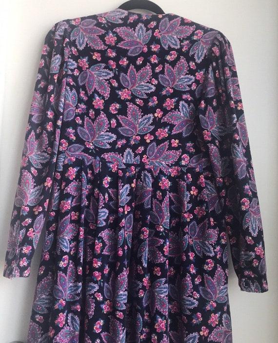 Vintage Laura Ashley Cottagecore Floral dress - image 7