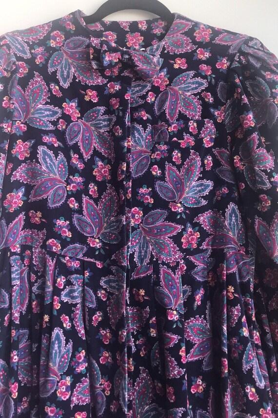 Vintage Laura Ashley Cottagecore Floral dress - image 9