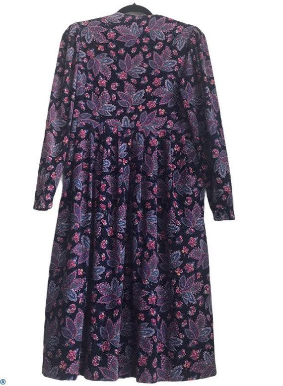 Vintage Laura Ashley Cottagecore Floral dress - image 2