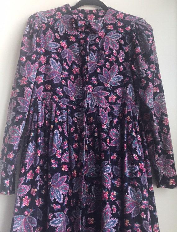 Vintage Laura Ashley Cottagecore Floral dress - image 5