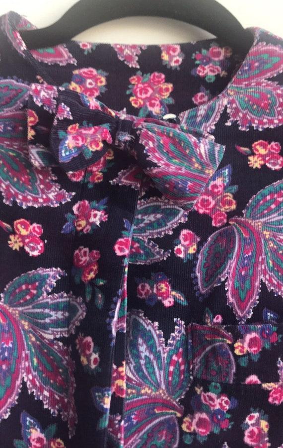 Vintage Laura Ashley Cottagecore Floral dress - image 3