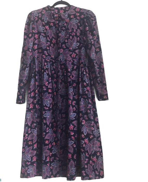 Vintage Laura Ashley Cottagecore Floral dress - image 1
