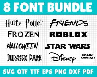 Cricut Font Bundle, Fonts For Cricut, Font Bundle, Cricut Font, Font Bundle, Font Svg, Font Png, Cricut, Svg Bundle