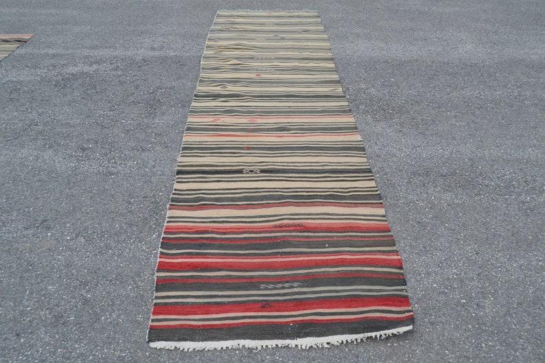 turkish rug 2.9x11.3 ft kilim runner oushak rug oriental vintage rug vintage decor home decor handmade rug decor carpet rugs anatolian rug