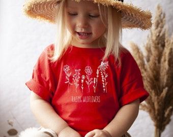 Nature Cute Toddler Clothing | Toddler Girl Boho Toddler Hippie Wildflower Toddler Clothing Spring