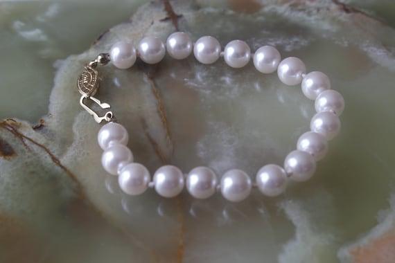 Pearl Bracelet, Sarah Coventry, Vintage - image 1