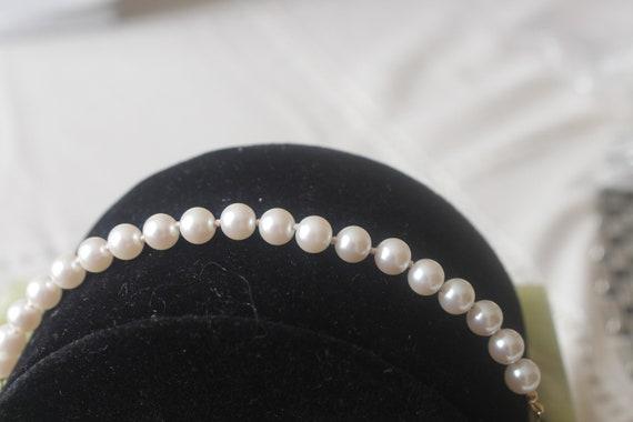 Pearl Bracelet, Sarah Coventry, Vintage - image 5