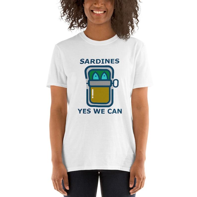 Sardines Antifa Italy Short-Sleeve Unisex T-Shirt image 0
