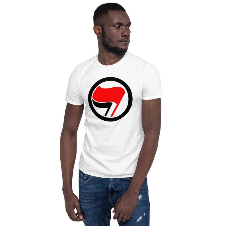 Antifa Logo Short-Sleeve Unisex T-Shirt image 0