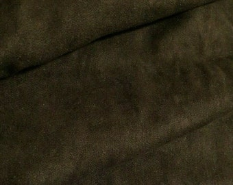 Brown Velour Fabric Sold By The Metre