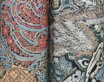 Cotton Upholstery Fabric Printed Sold By The Metre