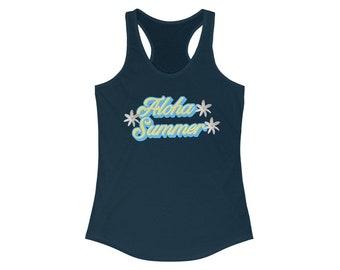 Aloha Summer Women's Ideal Racerback Tank