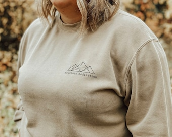 Geometric Mountain Meditation