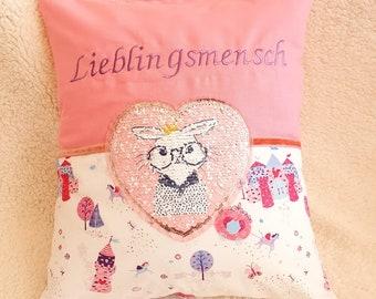 Pillow Favorite Man