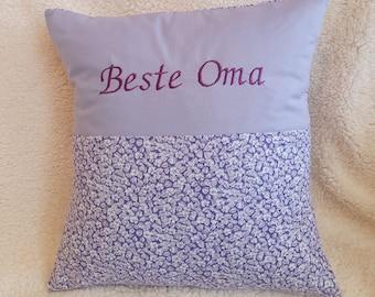 Grandma/Grandpa Pillow with name/saying