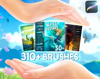 Brushpack with 310+ brushes for Procreate