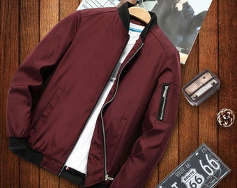 Mens Jacket Luxury Jackets with Pockets for Men Fashion Casual