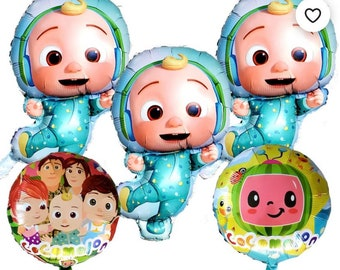 Baby jj Cocomelon friends boy girl theme items for birthday party theme decoration supplies