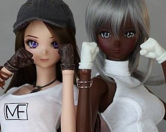 Brawler girl gloves -  for Smart Doll girl - choose your colour