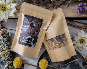 Mulling - Spices for Mulled Cider and Wine - Samhain and Yule - Organic Herbal Yuletide Sabbat Beverage Mix