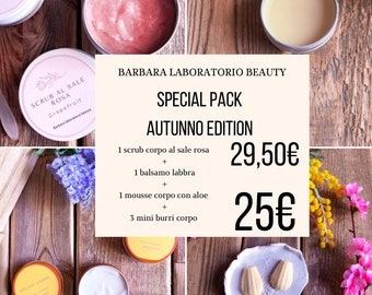 Autumn special pack with aole body mousse