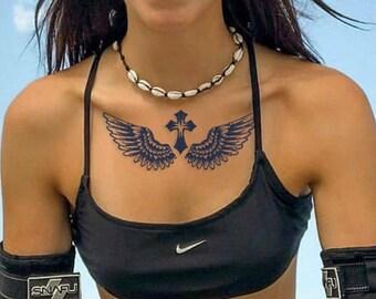 Rücken tattoo engel Engel Tattoo