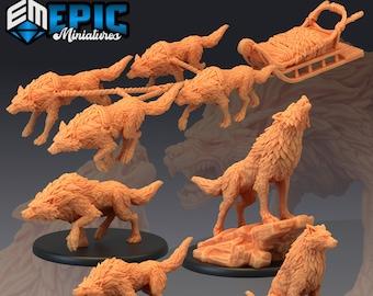 Gorefang Miniature Dungeons and Dragons DnD D/&D Mini 28mm 32mm Wolf