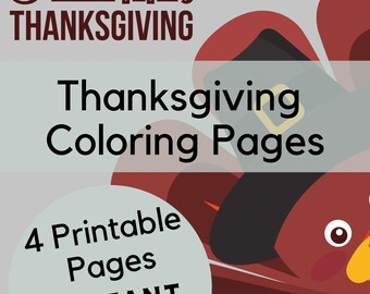 Thanksgiving Coloring Pages, Thanksgiving Coloring Book, Thanksgiving Activity Sheet, Coloring Pages, Coloring Book, Printable Coloring Book