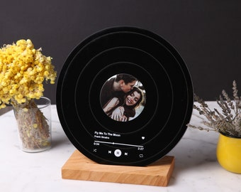 Romantic Personalized Record - Birthday Gift for Her - Anniversary Gift for Partner - Couples Gift - Valentines Gift - Boyfriend