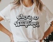 She 39 s a wildflower svg, Wildflower SVG, Boho flower svg, Coffee svg, Inspirational shirt svg, Positive svg, png, dxf, svg files for cricut