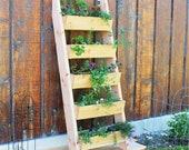 Vertical Garden Planter Box, Ladder Planter Box, Raised Garden Bed,Plant stand, Wall Planter