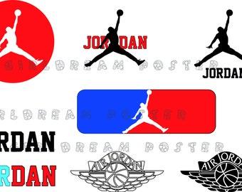 Michael Jordan SVG cut files for cricut or silhouette SVG_DXF_PNG_JPG_PDF