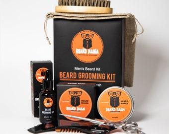 Beard Care Kit   Birthday Beard Gift Set   Beard Gift Set   Ultimate Beard Kit   Beard Grooming Set   Beard Gifts For Men   Oil, Balm, Comb