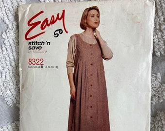 80s 90s Lazy oaf oversized Floral maxi Jumper Dress lagenlook Boxy so-cal boho Plus size 1X XL Beige Tan shift Vintage Cottagecore