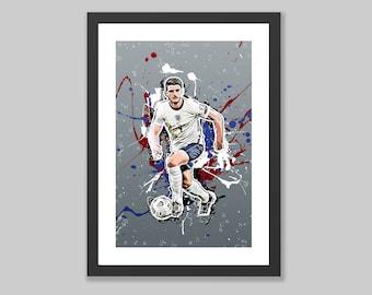 Paint Splatter Poster Print Declan Rice