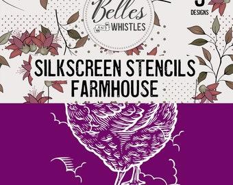 Farmhouse - Silkscreen Stencil Dixie Belle