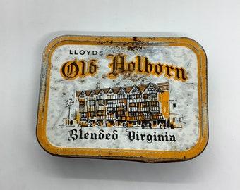 Vintage antique old Holborn tobacco tin