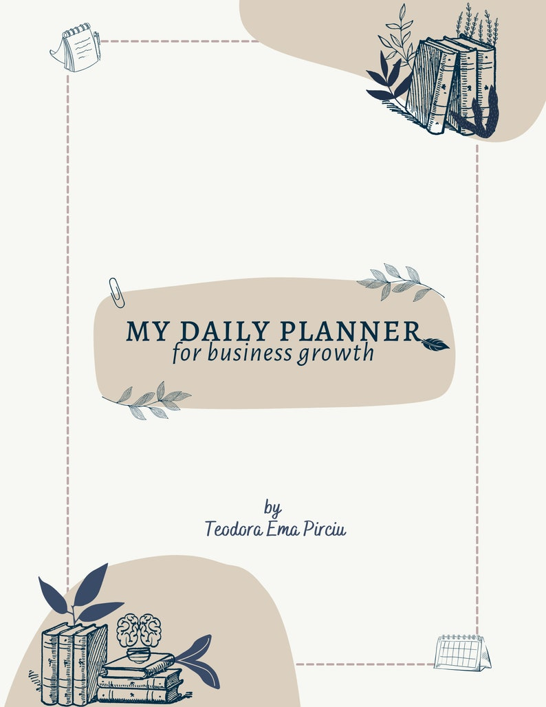 My Daily Planner for Business Growth image 1