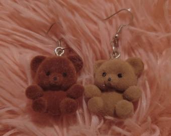 Earrings gel Bears