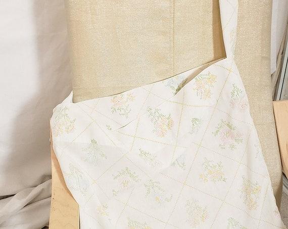 Cotton Shoulder Tote