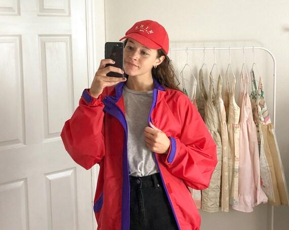 Vintage Red Nike Cap