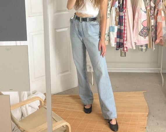 Vintage Jeans straight leg Calvin Klein-Large