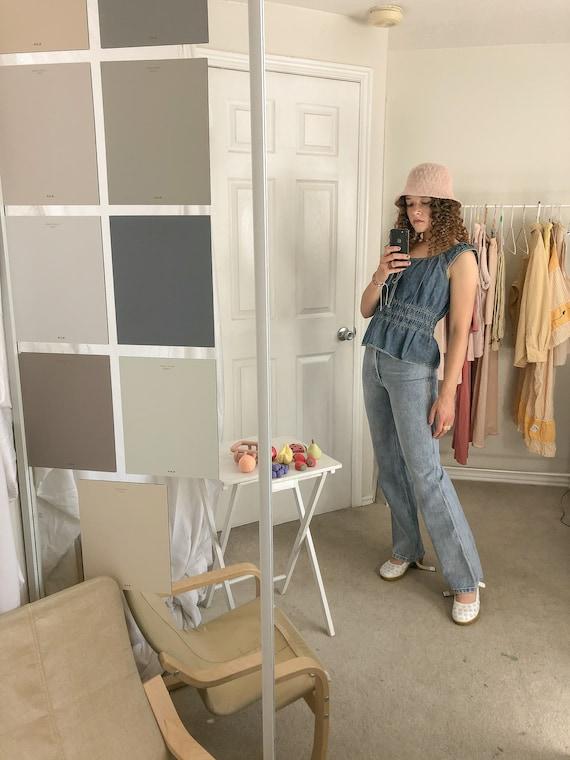 Straight Leg Jeans-Small